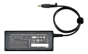 Carregador Pino Fino Notebook Fonte Hp 18.5v 3.5a