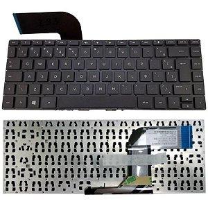 Teclado Para Notebook Hp 14-v064br 14-v065br 14-v066br Novo