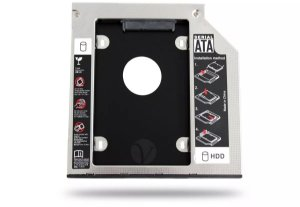 Adaptador Caddy Hd Ssd Sata Case Gaveta Dvd Notebook 9,5mm