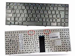 Teclado Notebook Itautec Pn 6-80-w2440-331-1 | Ç Wi-fi Preto