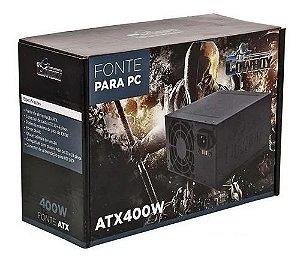 Fonte Atx 400w Cowboy Kp-532