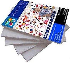Papel Transfer Sublimático Resinado 100g A4 500 folhas