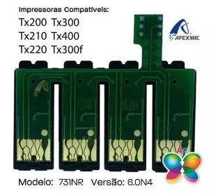 Chip Para Bulk Epson Tx200, Tx210, Tx220, Tx300 (f), Tx400