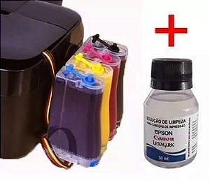 Bulk Ink Epson C79 C92 Cx4900 Cx5600 + Kit Limpeza Sem Tinta