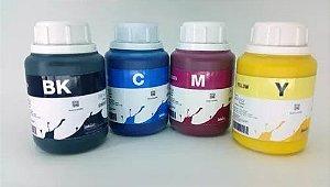 Kit - 4 Frascos - 250 Ml - Tinta Pigmentada Inktec Epson - E0007