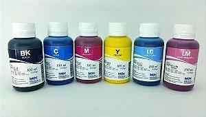 Kit - 6 Frascos - 100 Ml - Tinta Pigmentada Inktec Epson - E0007