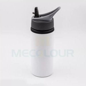 30 Squeeze Branco Resinado Com Bico Sublimação Mecolour