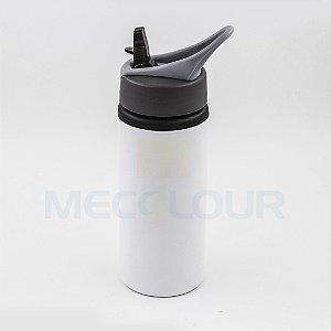 05 Squeeze Branco Resinado Com Bico Sublimação Mecolour