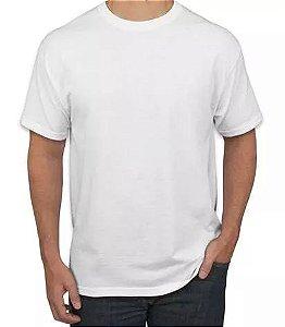 40 Camisetas Brancas De Poliéster Para Sublimação