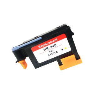 Cabeça De Impressão Compatível 940 ( C4901A ) Hp Black e Yellow