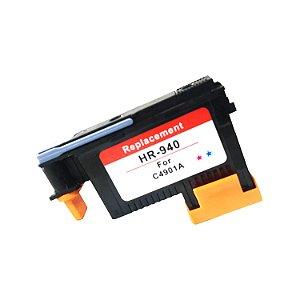 Cabeça De Impressão Compatível 940 ( C4901A ) Hp Cyan e Magenta