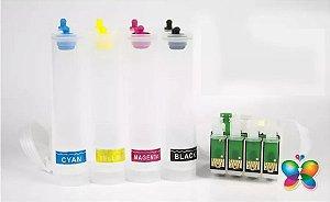 Bulk Ink Epson Tx200 Tx210 Tx220 Tx300 Tx400f P/ Técnico