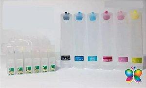 Bulk Ink Epson R200 R210 R220 R300 R320 P/ Técnico