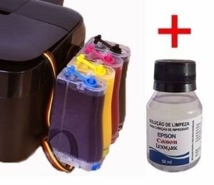 Bulk Ink Epson Xp214 Xp401 Xp204 Kit Limpeza Tinta