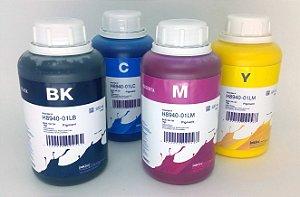 Kit - 4 Frascos - 500 Ml - Tinta Pigmentada Inktec Hp - H8940