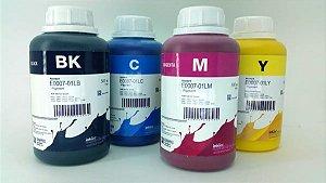 Kit -  4 Frascos - 500 Ml - Tinta Pigmentada Inktec Epson - E0007-