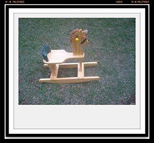 Cavalinho de balanço para crianças de 0-3 anos