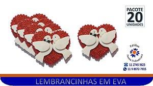 #APLIQUE DE LEMBRANCINHA EM EVA - PCTE 20 Unid