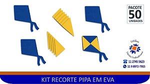 KIT RECORTE PIPA EM EVA - PCTE 50 Unid
