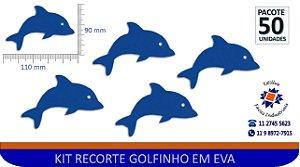 RECORTE DE GOLFINHO EM EVA