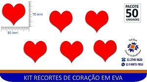 #RECORTE DE CORAÇÃO EM EVA