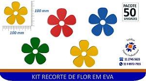 #RECORTE DE FLOR EM EVA