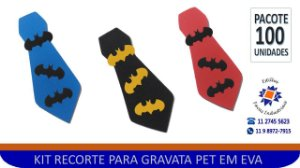 RECORTE MORCEGO EM EVA - PCTE 300 Unidades