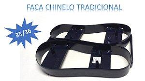 FACA CHINELO DUPLA MODELO TRADICIONAL - 35/36