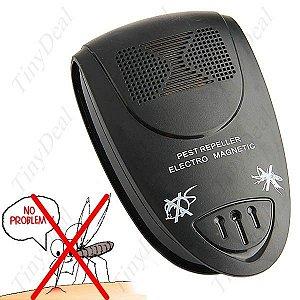 Controlador de Pestes Eletro Magnético e Ultrassônico