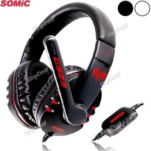 Fone de Ouvido Gamer com Microfone - Somic G923