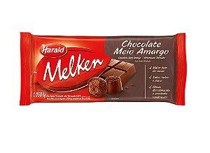 HARALD MELKEN BARRA CHOCOLATE MEIO AMARGO 1,05KG