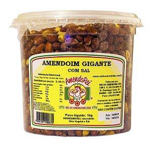 Amendoim Gigante Com Sal 1Kg