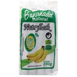 Bananada natural Nutryllack zero açúcar 230g