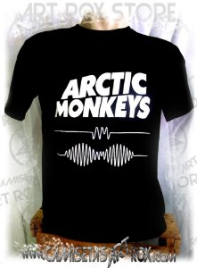 CAMISETA ARCTIC MONKEYS - AM