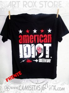 CAMISETA GREEN DAY - AMERICAN IDIOT
