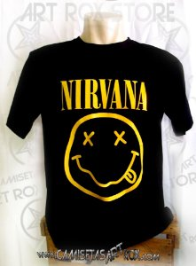 CAMISETA NIRVANA - SMILE