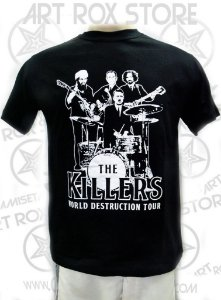 CAMISETA THE KILLERS - WORLD DESTRUCTION TOUR