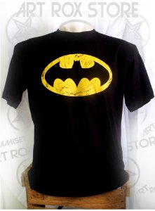 CAMISETA BATMAN - LOGOTIPO