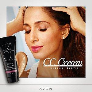Ideal Face CC Cream Creme Base Corretor Multibenefícios FPS 50