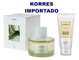 KORRES MIRA FOR HER DEO PARFUM 75ml + CREME CORPORAL 40ml