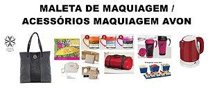 MALETA DE MAQUIAGEM / ACESSÓRIOS MAQUIAGEM AVON