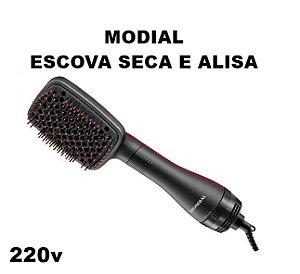 Mondial Escova 2 Em 1 Seca E Alisa 220v  [2 Brindes Grátis]
