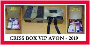 CRISS BOX VIP AVON