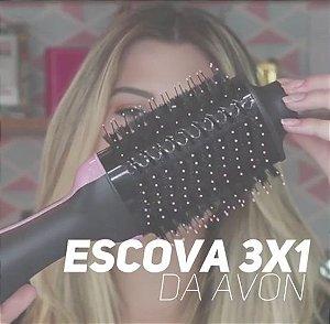 Relaxbeauty Escova 3 em 1 | SECA | ALISA | MODELA |