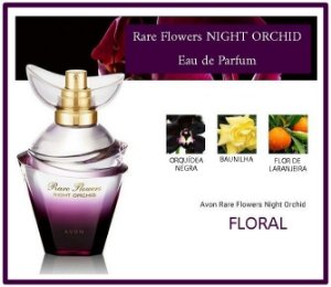 AVON RARE FLOWERS NIGHT ORCHID EAU DE PARFUM 50ml