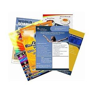 Folhetos Pizzarias -  5.000 unidades - Arte Pronta