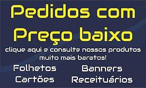 CARTÕES DE VISITA | 3.000 un. (ARTE PRONTA)