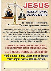 Folhetos 100 unidades - ARTE PRONTA