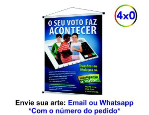 BANNER - IMPRESSÃO FRENTE - 280G - 40X60 CM