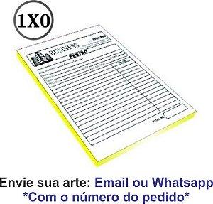 TALÕES DE PEDIDO - AUTO COPIATIVO 53G - 1X0 CORES